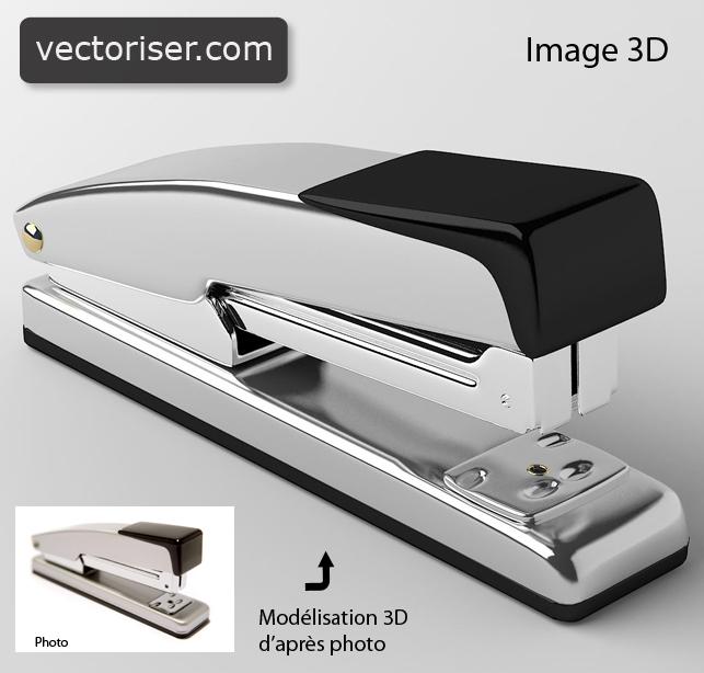 Vectorisation 3d modelisation 3d for 3d modelisation