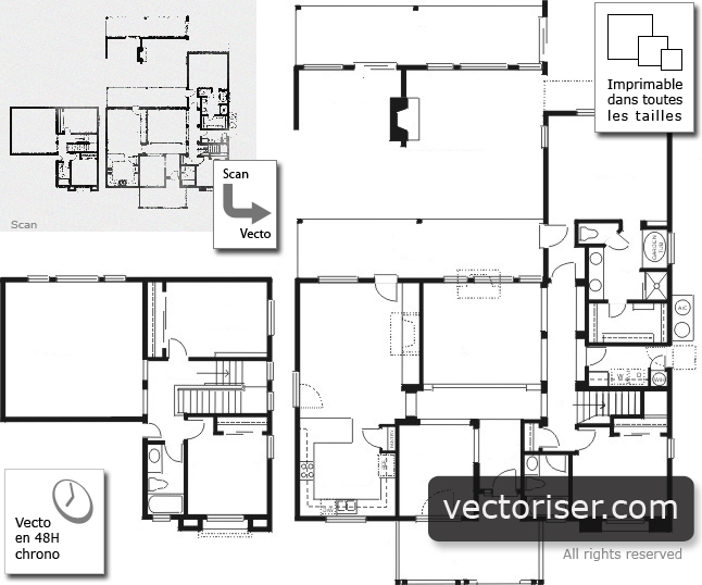 Plan De Loft D Architecte Maison Design
